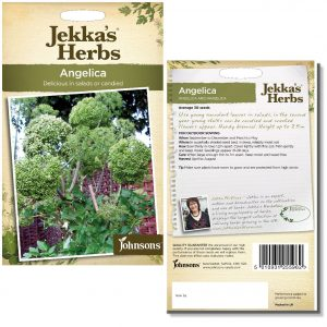 Jekka's Herbs – Angelica Seeds by Johnsons