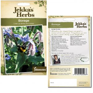 Jekka's Herbs – Borage Seeds by Johnsons