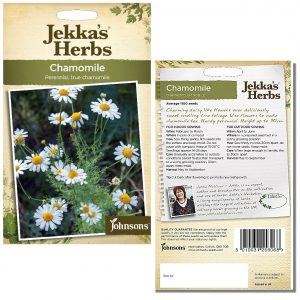 Jekka's Herbs – Chamomile Seeds by Johnsons