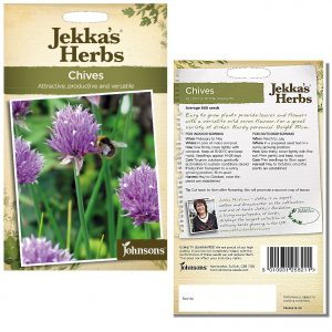 Jekka's Herbs – Chives Seeds by Johnsons