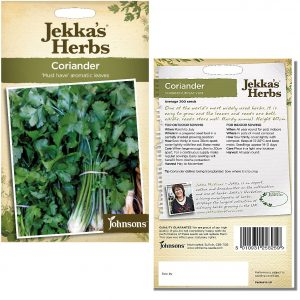 Jekka's Herbs – Coriander Seeds by Johnsons