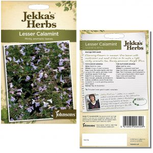 Jekka's Herbs – Lesser Calamint Seeds by Johnsons