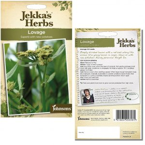 Jekka's Herbs – Lovage Seeds by Johnsons