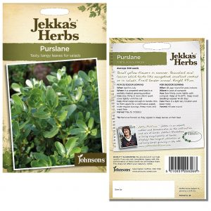 Jekka's Herbs – Purslane Seeds by Johnsons