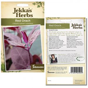 Jekka's Herbs – Red Orach Seeds by Johnsons