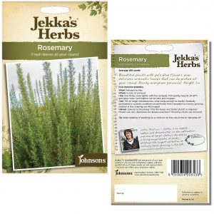 Jekka's Herbs – Rosemary Seeds by Johnsons