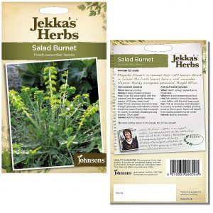 Jekka's Herbs – Salad Burnet Seeds by Johnsons