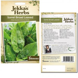 Jekka's Herbs – Sorrel Broad Leaved Seeds by Johnsons
