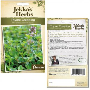 Jekka's Herbs – Thyme Creeping Seeds by Johnsons