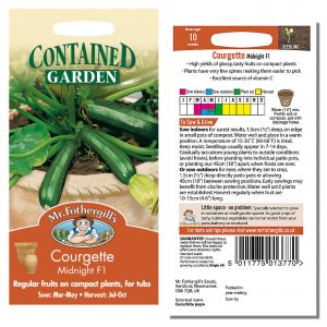 Mr. Fothergill's Seeds – Courgette Midnight F1