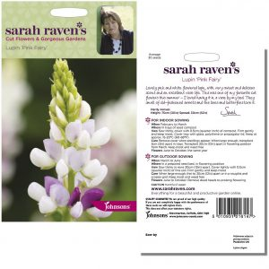 Sarah Raven's Lupin 'Pink Fairy' Seeds by Johnsons