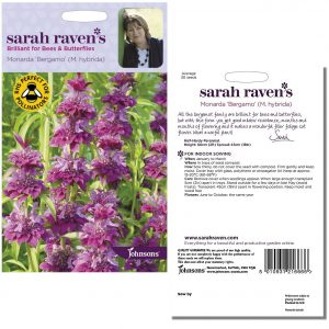 Sarah Raven's Monarda 'Bergamo' (M. hybrida) Seeds by Johnsons