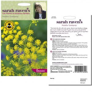 Sarah Raven's Ridolfia 'Goldspray' Seeds by Johnsons