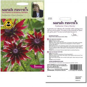 Sarah Raven's Rudbeckia 'Cherry Brandy' Seeds by Johnsons