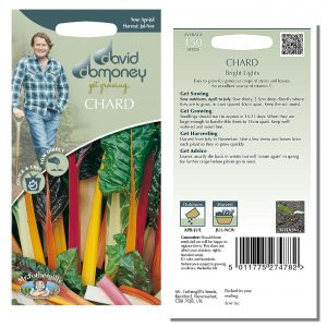 David Domoney (Mr. Fothergill's) Seeds – Chard Bright Lights