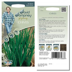 David Domoney (Mr. Fothergill's) Seeds – Chives