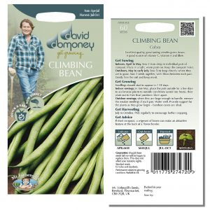 David Domoney (Mr. Fothergill's) Seeds – Climbing Bean Cobra