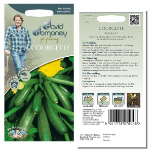 David Domoney (Mr. Fothergill's) Seeds – Courgette Tuscany F1