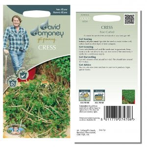 David Domoney (Mr. Fothergill's) Seeds – Cress Fine Curled