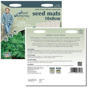 David Domoney (Mr. Fothergill's) Seeds – Herb Collection Seed Mats