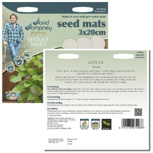 David Domoney (Mr. Fothergill's) Seeds – Lettuce Mixed Seed Mats