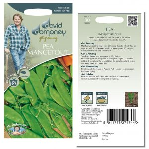David Domoney (Mr. Fothergill's) Seeds – Pea Mangetout Norli