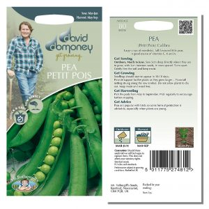 David Domoney (Mr. Fothergill's) Seeds – Pea Petit Pois Calibra