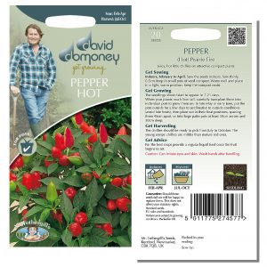 David Domoney (Mr. Fothergill's) Seeds – Pepper (Hot) Prairie Fire