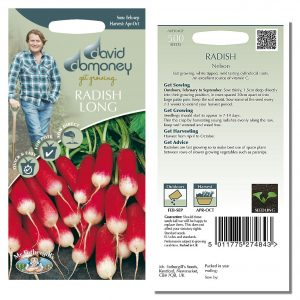 David Domoney (Mr. Fothergill's) Seeds – Radish (Long) Nelson