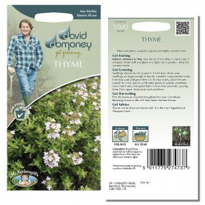 David Domoney (Mr. Fothergill's) Seeds – Thyme