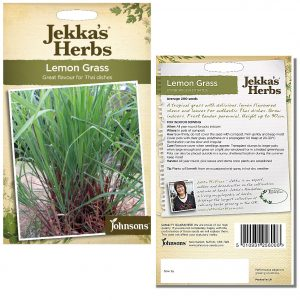 Jekka's Herbs – Lemon Grass Seeds by Johnsons